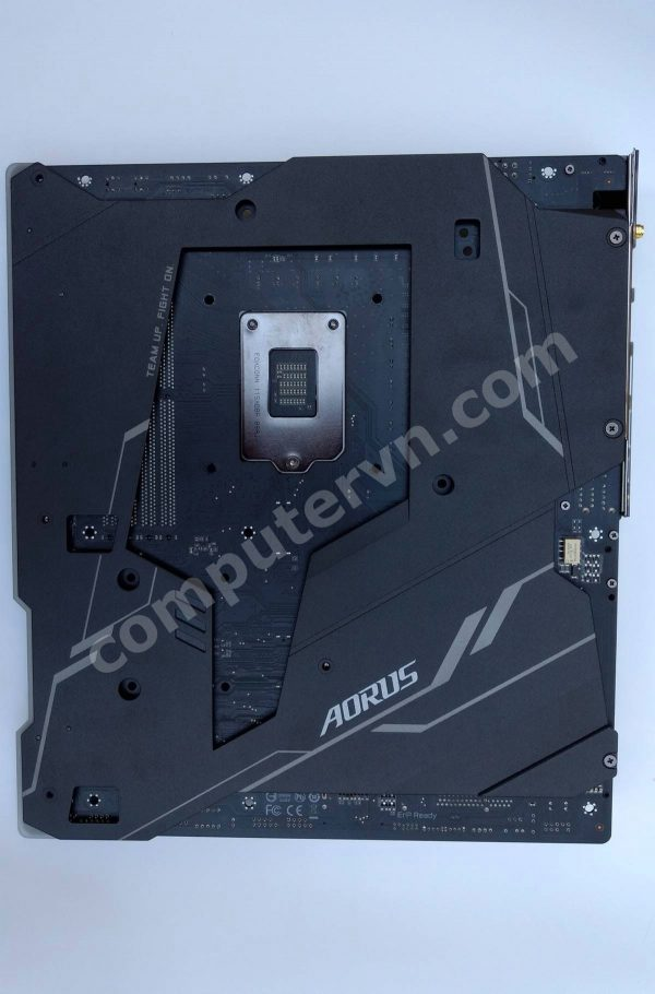 Gigabyte Z390 Aorus Xtreme Waterforce backplate
